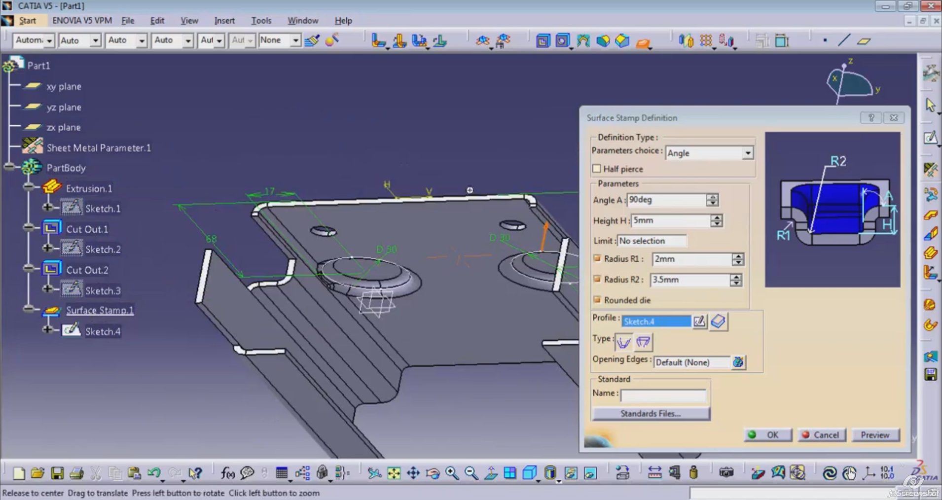 Catia V5 Fpe Fabricated Product Creation Technodat Cz